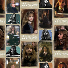 Camelot Fabric Harry Potter Hermione Granger PER METRE Digitally Printed License