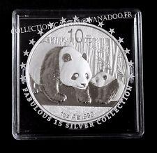 Chine BU 1 OZ 2011 ProofLe Panda, Temple de Ciel Pékin Argent/Silver, certificat