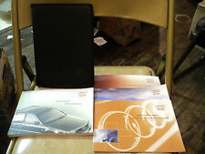☀ ☀ ☀ 2002 Audi A8 Owners Manual Set w/ Case ☀ ☀ ☀
