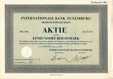 Internationale Bank Luxemburg 1943