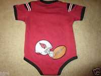 Arizona Cardinals  NFL Reebok One Piece Baby Infant Jersey 18 months