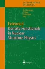 Lecture Notes in Physics: Extended Density Functionals in Nuclear Structure...