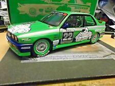 BMW M3 E30 EVO DTM Team Alpina Michelin 1988 Danner #22 Winner Minichamps 1:18