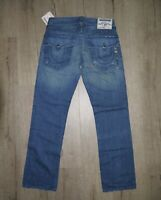 Vintage True Religion Swarovski Crystal Straight Made In USA Jeans Denim W33