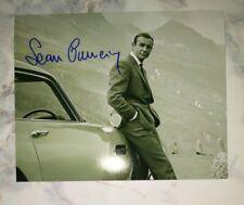 Sean Connery Autographed James Bond 8x10 Photo COA