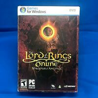 Lord of the Rings Online Shadows of Angmar Special Edition Windows PC COMPLETE