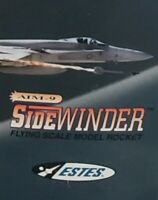 Estes flying model rocket Sidewinder kit 2125 new vintage mint AAA 🚀 choice