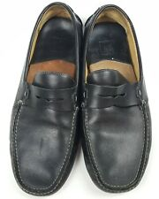 Johnston & Murphy Driving Moccasin Driving Loafers Mens Size 9 W Black Slip On