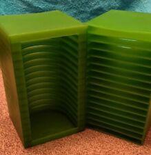 Green CD Racks