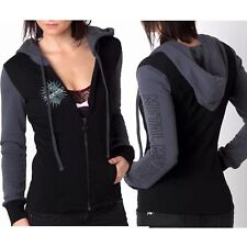 Metal Mulisha Ladies Roadhouse Fleece Hoodie Size M
