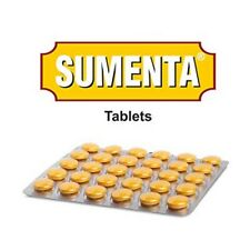 4 X Charak Ayurveda Herbal Sumenta Tablet 30 Tab Anti-stress, Adaptogenic Free S