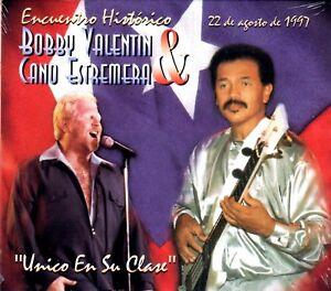 BOBBY VALENTIN  Y CANO ESTREMERA - ENCUENTRO HISTORICO - CD NEW SELAED