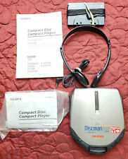 SONY Discman D-E307CK Super ESP Digital Mega Bass Car Adaptor Kit & Headphones