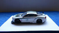 Bentley Continental GT-6 precision Made Braha ind. plastic car 1:24