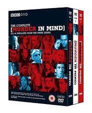 Murder in Mind: Complete Series 1+2+3 [BBC] (DVD)~~All 24 Episodes~~NEW & SEALED