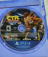 CTR: Crash Team Racing: Nitro-Fueled PlayStation 4 (PS4) *Disc Only* FREE SHIP