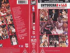 BASKETBALL ~ UNTOUCHABLES~ VHS PAL VIDEO~ A RARE FIND