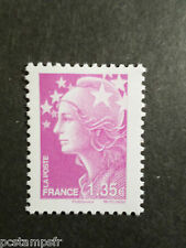 FRANCE 2009 timbre 4420, COULEURS MARIANNE BEAUJARD EUROPE, neuf**, MNH STAMP