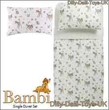 Bnitw Walt Disney Classic Bambi Kids/childs Single Duvet Set 99p BARGAIN