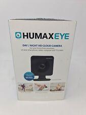 Humax Eye  Day/Night HD Cloud Camera 7 Day Cloud Storage No Fees No Plug Adapter