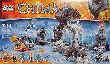 LEGO Chima 70226 Die Eisfestung Mammuts Rinona Maula Mottrot Vardy Rogon NEU NEW