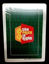 New Poker Card Deck The Price Is Right Souvenir Collectors Gift Game Classic Bob