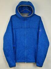 Arcteryx Men's Covert Fleece Hoody Jacket Blue M Polartec Hoodie Zip