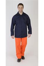 "Faithful Navy Blue Flameshield Cotton Flame Retardant Jacket – 92cm (36"")"