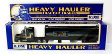"K-Line 1:48 O Scale  Semi ""K-Line"" NIB Heavy hauler"
