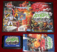 *Complete* Sega Mega Drive Game ALIEN STORM NTSC-J Japan Import