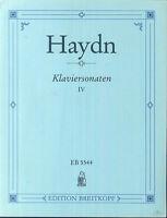 HAYDN - Klaviersonaten IV