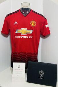 Manchester United Pogba signed shirt adidas Manchester united jersey