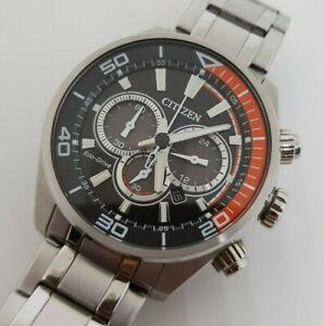 Men's CITIZEN Chronograph ECO - DRIVE B620-S107245 Watch (working)