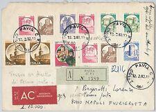 47382 - ITALIA REPUBBLICA Storia Postale: CASTELLI su  BUSTA 1982 - Tariffa 1400