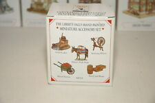 Liberty Falls Hand Painted Pewter Miniatures Accessory Set Ah 121 (Lot 2)