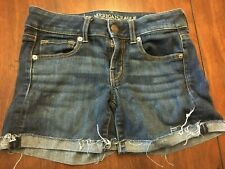 American Eagle Outfitters Denim Shorts Super Stretch Size 0