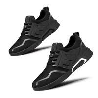 Hombre Zapatillas Deportivas Exterior Cordones Informal Running Malla Fitness