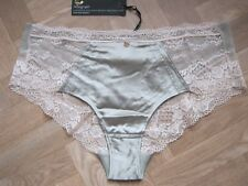 M & S Rosie For Autograph Silk & Lace Shorts Knickers Size 16 RRP £12.50
