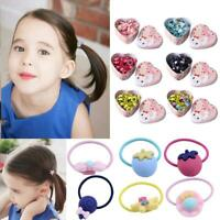 20pcs Baby Kids Girls Hair Band Ties Rope Ring Elastic Hairband Ponytail Holder