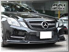 B Style Carbon Fiber Front Bumper Lip For M-Benz W212 E250 E350 E550 2010-2013