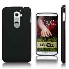 For LG G2,D802/D801/D800 Black Matte Gel TPU Skin Case Cover