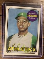 Topps Reprint Baseball Card 1969 Reggie Jackson MLB MVP HOF Oakland A's NM-MT SP