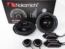 "Nakamichi SP-CS63 6.2"" 2-Way Component Car Stereo Speakers 320W"