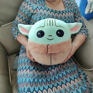 "5""/10"" Squishmallows Plush Stuffed Toy Baby Yoda The Child Pillow Gift AU STOCK"