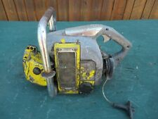 Vintage McCULLOCH SUPER 33  Chainsaw Chain Saw FOR PARTS