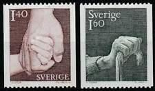 Zweden postfris 1980 MNH 1103-1104 - Zorg voor Ouderen en Kind