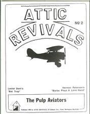 ATTIC REVIVALS #2, 1980 1st pulp reprints, Lester Dent slim magazine fanzine