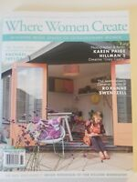 WHERE WOMEN CREATE FEBRUARY/ MARCH/ APRIL  2018 BRAND NEW MAGAZINE
