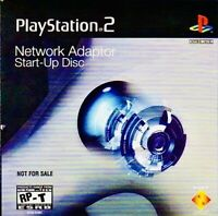 SONY PLAYSTATION 2 PS2 NETWORK ADAPTER START-UP DISC BRAND NEW SEALED