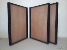 3 Jersey Display Case Frame Football Baseball Basketball Shadow Box Black A